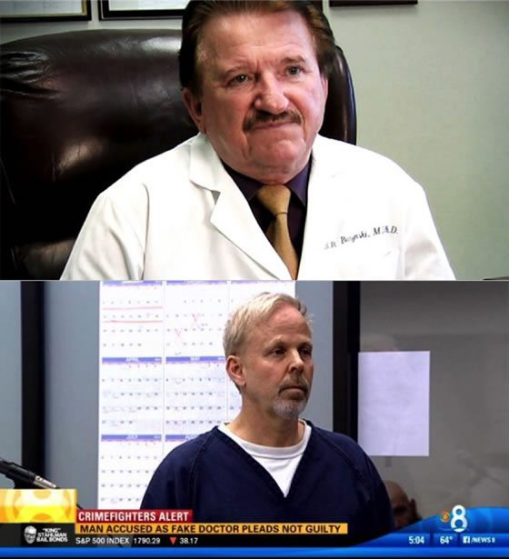 Stanislaw Burzynski (upper panel) and Robert O. Young (lower panel), two quacks whose activities reveal the weaknesses in how the practice of medicine is regulated.