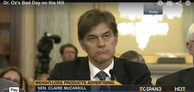 Not Dr. Oz's usual television audience