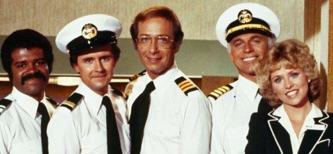 Sadly, this is not the crew of the Woo Boat, which is not the Love Boat. It would be awesome if that were the case, but it's not. I wonder if they'll be letting the astrologist navigate. The trip might end up being longer than expected.