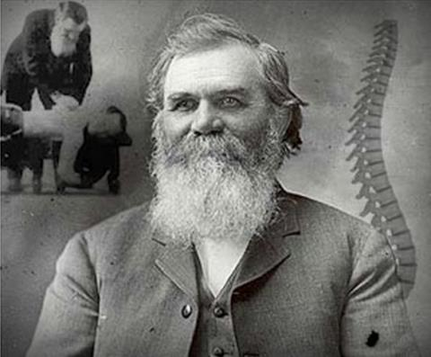 Daniel David Palmer, creator of the nebulous subluxation and father of chiropractic.