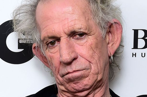 Keith Richards: You'd look like this too, if you lived the way I did for all those decades.